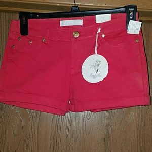 Isabella red shorts (3 for $20)